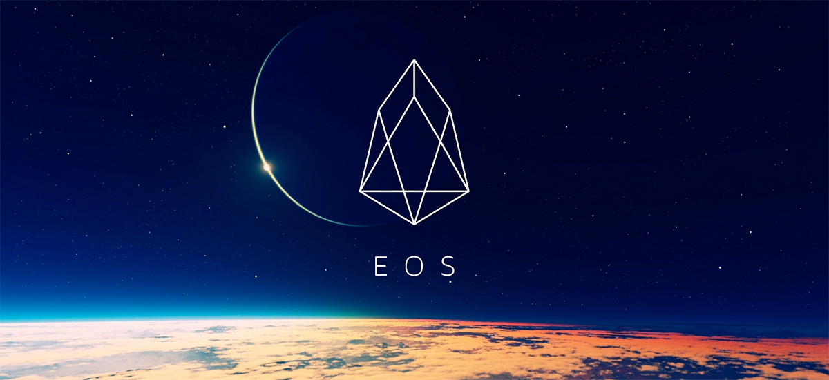 EOS icon in the space