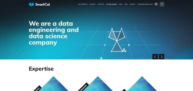 SmartCat homepage screen