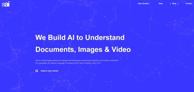 Bohemian AI homepage screen