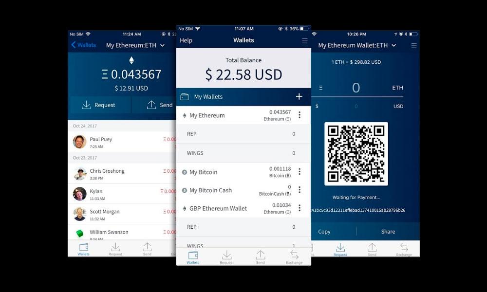 Edge mobile app UI