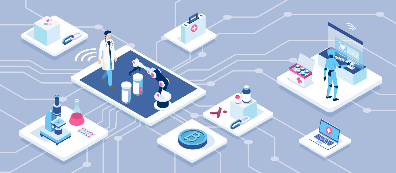 Blockchain and IoT Solutions for Pharmaceutical Supply Chains