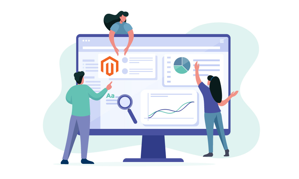 People building an online store on Magento
