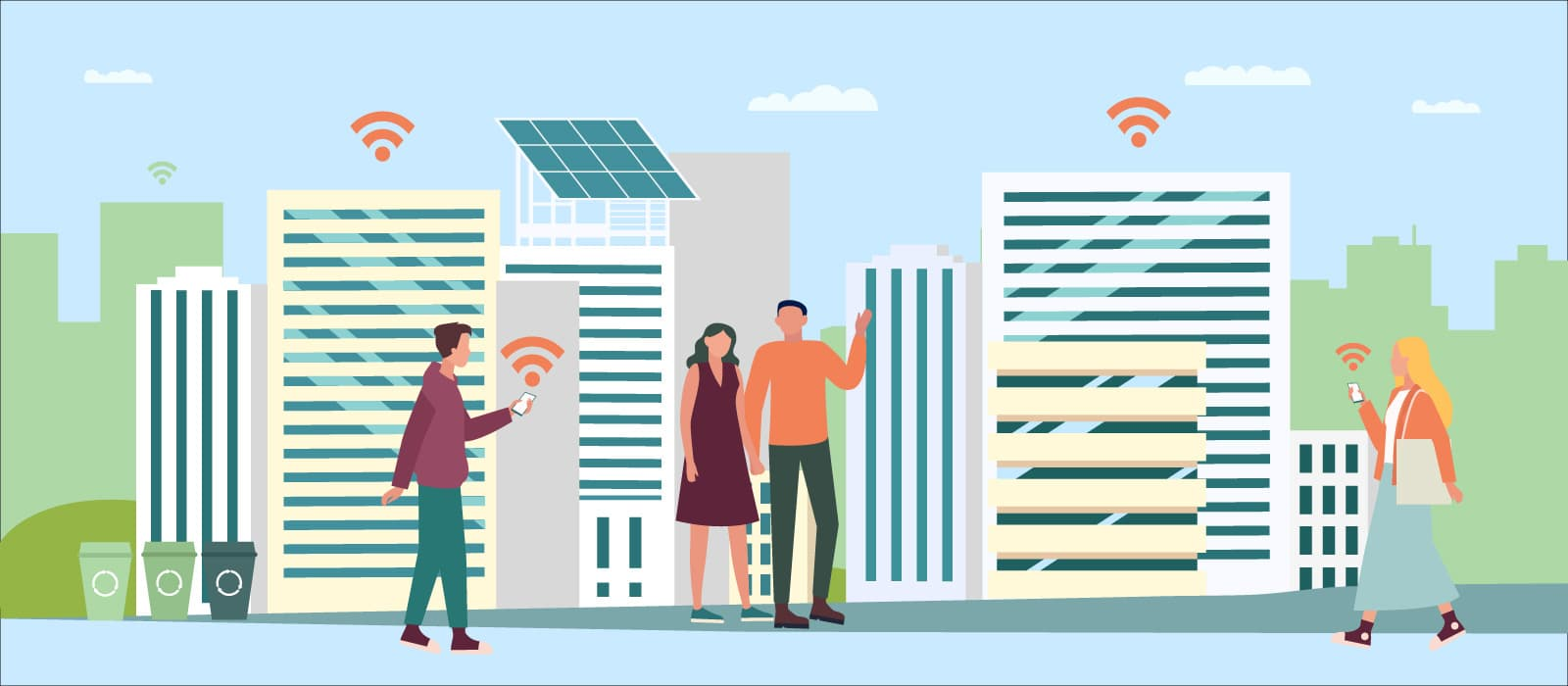 Smart Cities Leading the Drive to Environmental Sustainability